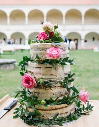 Schloss Deutschkreutz Hochzeitstorte